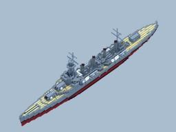 RNS Marlborough Class Heavy Cruiser Minecraft Map & Project