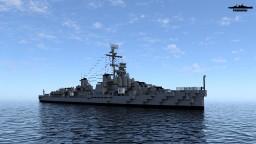 USS Gearing (DD-710) [Default texture remake] Minecraft Map & Project