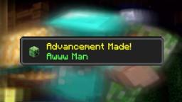 Creeper (Awww Man) Achievement Minecraft Data Pack