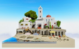 Enjoy summer in Greece! [DOWNLOAD] Minecraft Map & Project