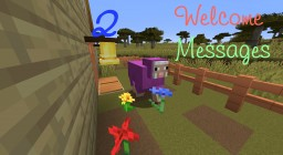 Welcome Messages 2 Minecraft Data Pack