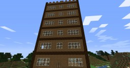 Survival Built Tower Minecraft Map & Project
