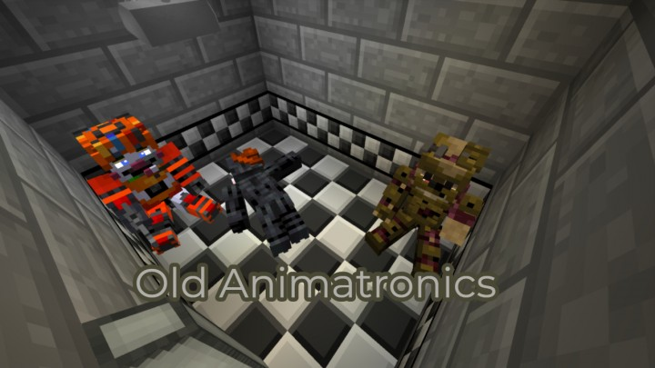 Old Animatronics Safe Room