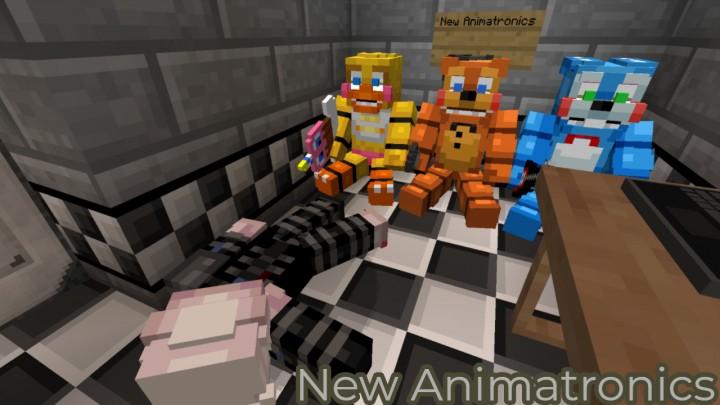 New Animatronics Safe Room