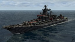 Russian guided missile cruiser Moskva (ex - slava) Minecraft Map & Project