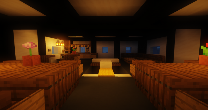 The Kitchen at night