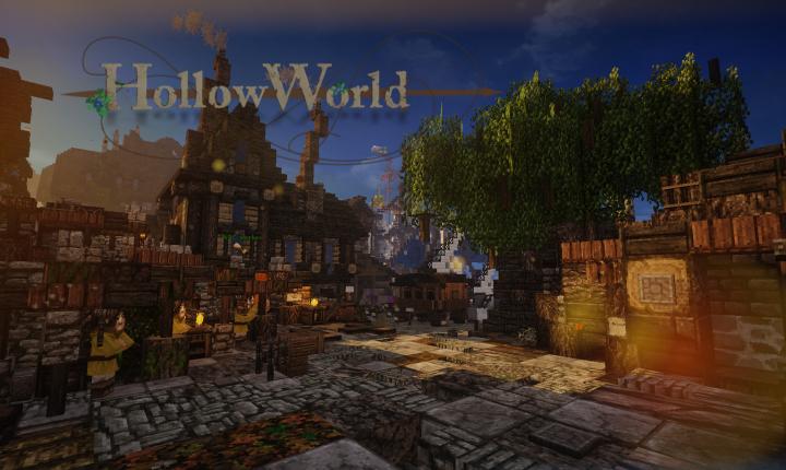 HollowWorld Medieval Fantasy Roleplay Minecraft Server