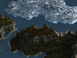 Islands Mia - 2000x2000 worldpainter 1.14+ (downoload) Minecraft Map & Project