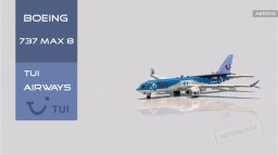 Boeing 737 MAX 8 TUI Airways [+Download] Minecraft Map & Project