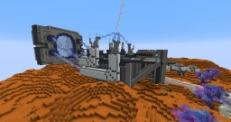 Interstellar Exploration Base - Project 2048 Minecraft Map & Project