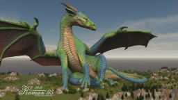 The Dragoness Minecraft Map & Project