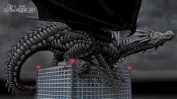 Dragon on skyscraper Minecraft Map & Project