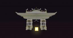 幻想中國風建築. / Fantasy chinese style house. Minecraft Map & Project