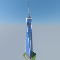 One World Trade Center (Freedom Tower) Minecraft Map & Project