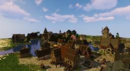 Hallvardur docks and houses Minecraft Map & Project