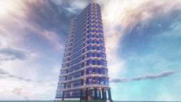 Dark Modern Skyscraper DT city #18 | Minecraft Timelapse Minecraft Map & Project