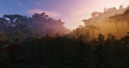 Natcen - A mountainous terrain Minecraft Map & Project