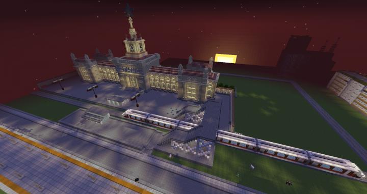 Railway station Letinskaya