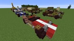 Caterham Seven 2:1 Minecraft Map & Project