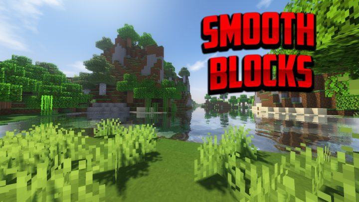 Popular Texture Pack : Smooth Blocks And More! [1.14  - 1.16] (NETHERITE UPDATE)