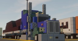 1.5:1 Peterbilt Model 389 With Flat Bed Trailer Minecraft Map & Project