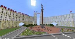 Letinsk city - Real soviet city! Minecraft Map & Project