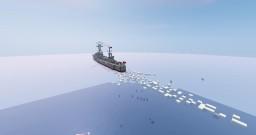 1:1 Tomozuru Japanese torpedo boat. Minecraft Map & Project