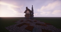 Compact Medieval House Minecraft Map & Project
