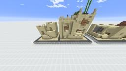 Desert Village Buildings Transformation Minecraft Map & Project