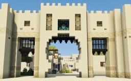 [DOWNLOAD] Al-Afdal -Oasis city in the arabian desert Minecraft Map & Project