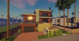 Modern Mansion 2 Minecraft Map & Project