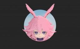 Yae Sakura mini statue Minecraft Map & Project