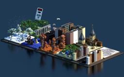 ⚔️ | Alenluçon | 10 Practice Arenas PvP | ⚔️ Minecraft Map & Project