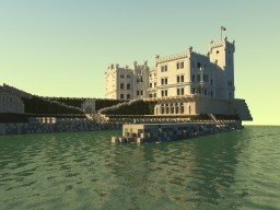 Castello Miramare (Trieste Itatlia) Minecraft Map & Project