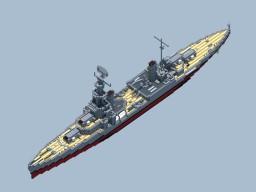 RNS Huntington Class Heavy Cruiser Minecraft Map & Project