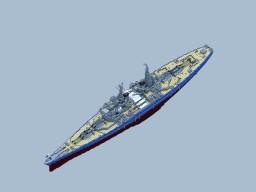 RNS Kaiser Class Battleship Minecraft Map & Project