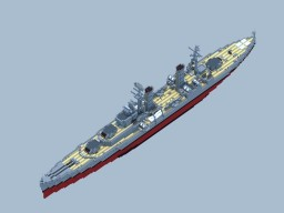 RNS Beta Class Light Cruiser Minecraft Map & Project