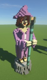 Sorceress/Witch Statues Minecraft Map & Project