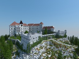 Pieskowa Skala Castle Minecraft Map & Project