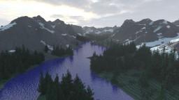 Glacier National Park (4k x 4k) Minecraft Map & Project