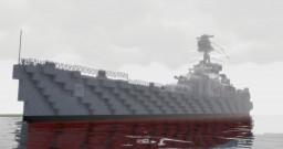 HMS Hood 1941 Minecraft Map & Project