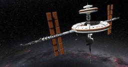 "International Orbital Research Station ""Hōshō"" 鳳翔 (IORS) Minecraft Map & Project"