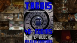TARDIS [40+ ROOMS, MASSIVE] (Doctor Who) Minecraft Map & Project