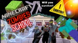 Minecraft ZOMBIES: School by daveDAVE25 Minecraft Map & Project
