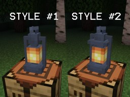 Realistic Lanterns Minecraft Texture Pack