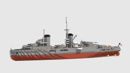 Battleship Lyon Minecraft Map & Project