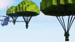 Military Parachute #1 Minecraft Map & Project