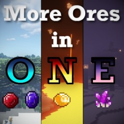 [Forge 1.14/1.15] More Ores in ONE - Community Mod! (Adds Ores in the Overworld, Nether & End!) Minecraft Mod