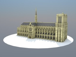Cathédrale Notre-Dame de Paris Minecraft Map & Project