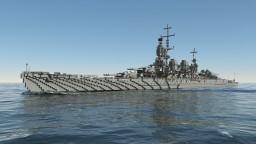 Italian Battleship Roma | 1:1 Minecraft Map & Project